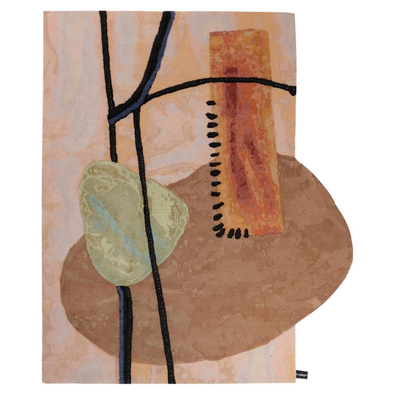 The Mantle Piece Doodles Rug by Faye Toogood for CC-Tapis For Sale