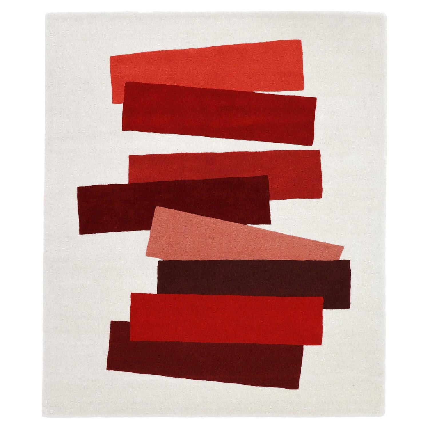 The Many Faces of Red 'Rug' After Josef Albers