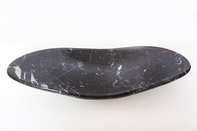 Marble House Balena Marble Dish, Handmade in Italy For Sale 2