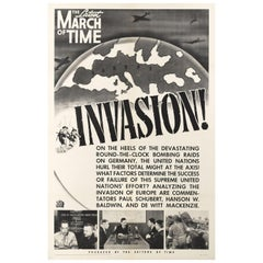The March of Time Invasion!