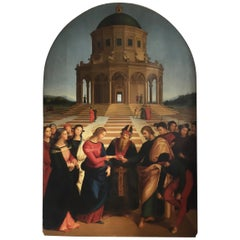 Marriage of the Virgin after Raphael 'Raffaello Sanzio da Urbino' 1483-1520