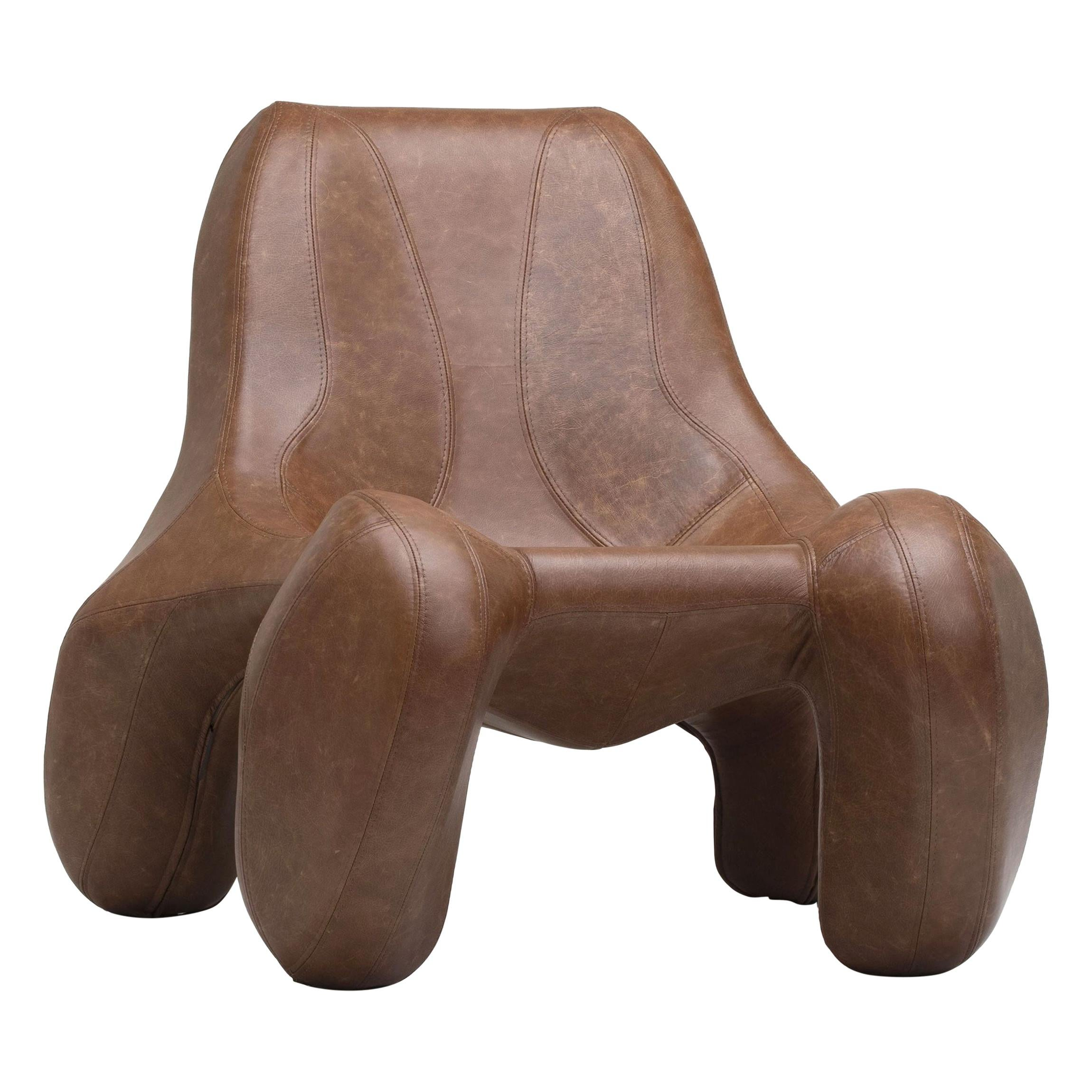The Max Jungblut Club 114 Vegas Camel Leather