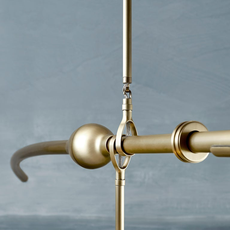 Contemporary McTavish Chandelier from the Pisces Collection by Andrea Claire For Sale