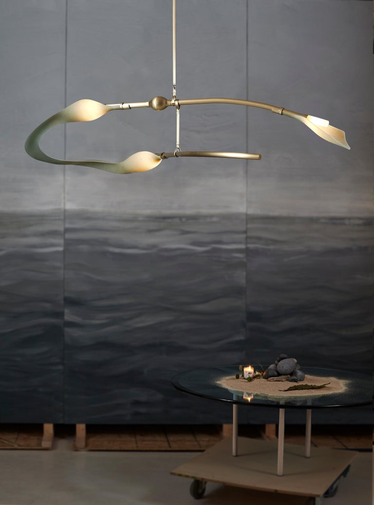 Hand-Crafted McTavish Chandelier from the Pisces Collection by Andrea Claire For Sale