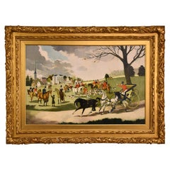 """The Meet"" Oil Painting by Doris Zinkeisen"