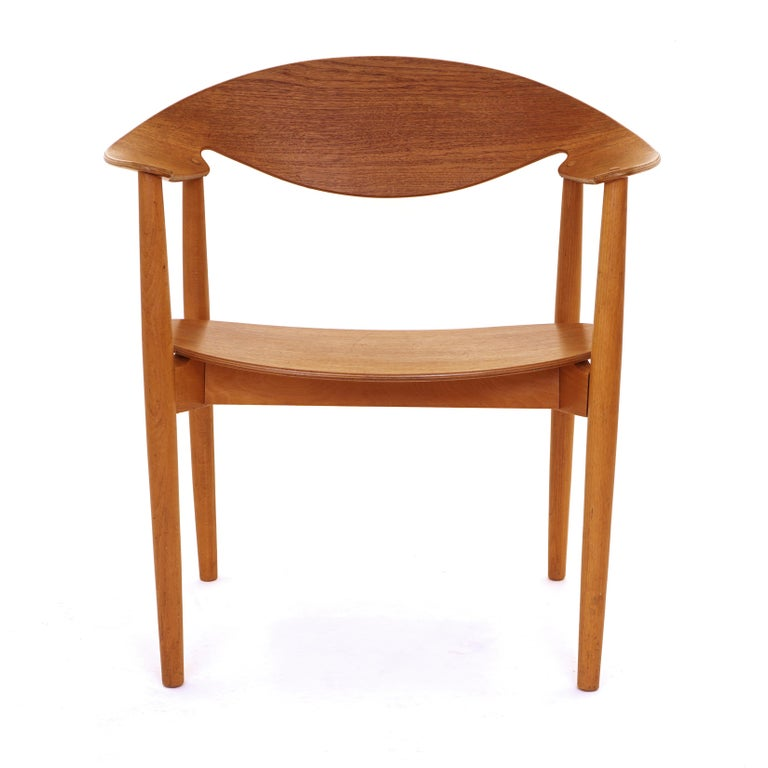The Metropolitan chair, teak, by Ejnar Larsen & Aksel Bender Madsen, Denmark