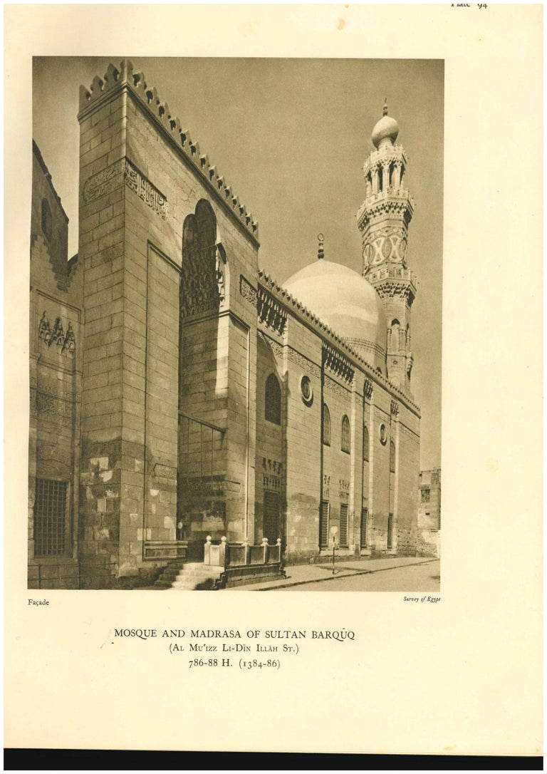 Mosques of Egypt in 2 Volumes Books For Sale 2
