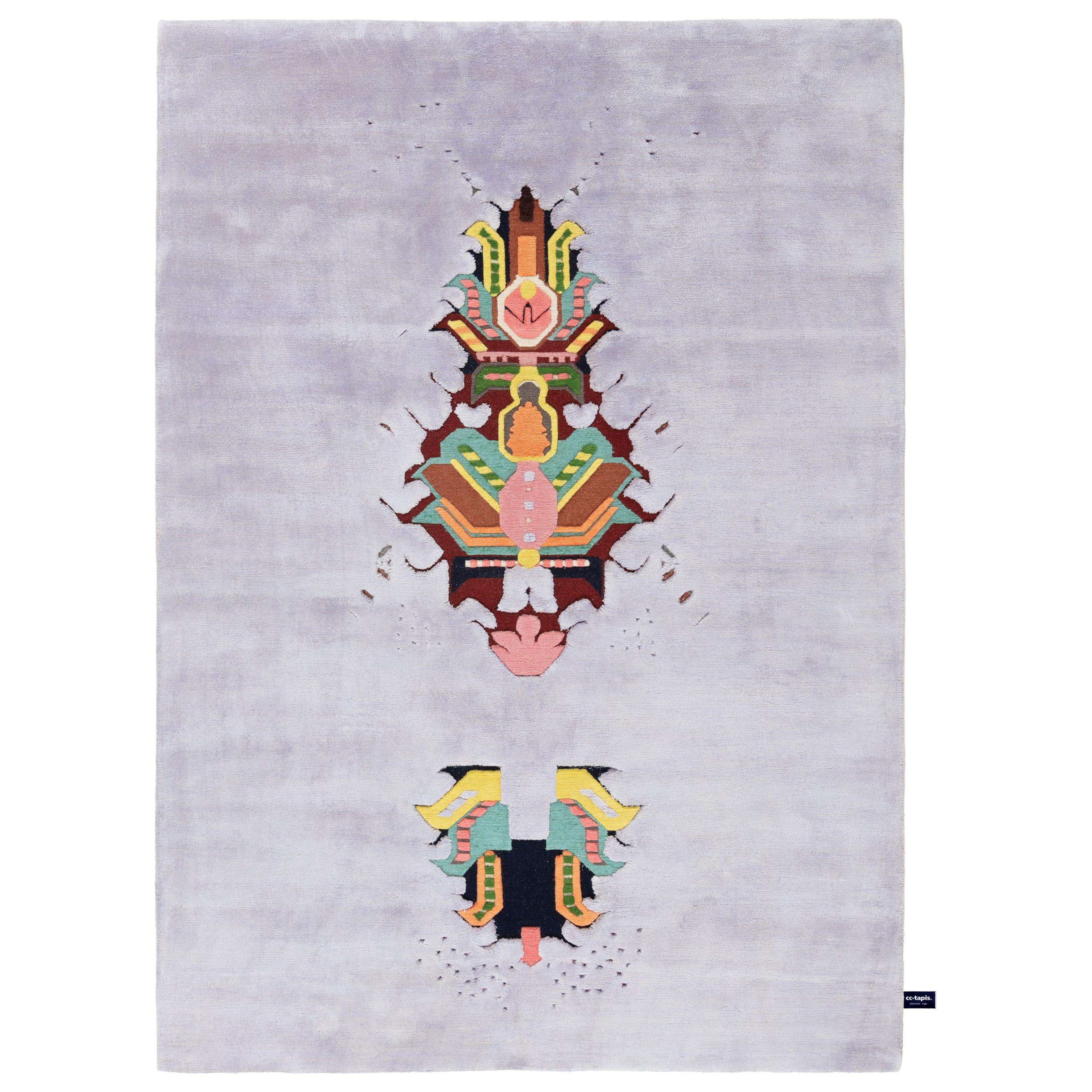 The Mothership Rug Invaders Rug by CC-Tapis