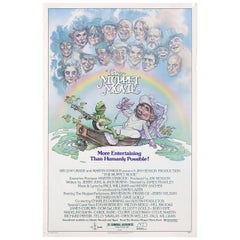 """The Muppet Movie"" 1979 U.S. One Sheet Film Poster"