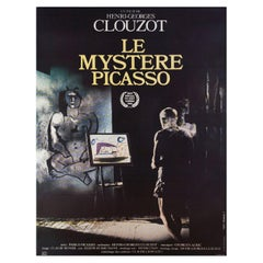 The Mystery of Picasso R1980s French Grande Film Poster