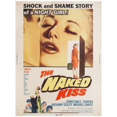 """""""The Naked Kiss"""" 1964 U.S. 30 by 40 Film Poster"""