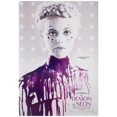 Neon Demon 2016 Canadian One Sheet Film Poster