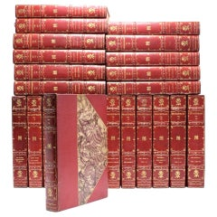 The New Century Shakespeare, Deluxe Edition Set, 24 Matching Volumes, 1901