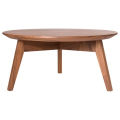 Black Walnut Coffee Table by Kate Duncan