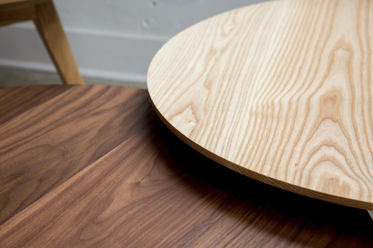 Wood Black Walnut Coffee Table by Kate Duncan  For Sale