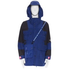 THE NORTH FACE Black Series KAZUKI KURAISHI KK Delta Work Jacket Flag Blue L