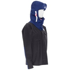THE NORTH FACE KAZUKI KURAISHI KK Urban Explore Charlie Duty Jacket Black Blue M