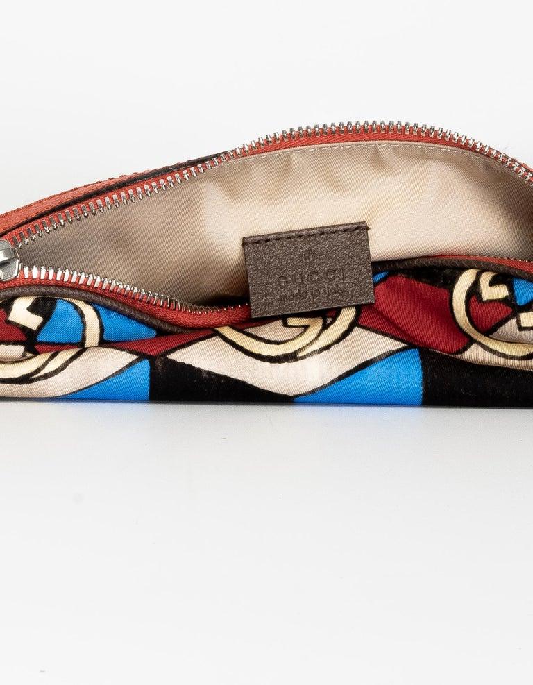 The North Face x Gucci Geometric Interlocking G Print Belt Bag For Sale 1