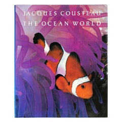 The Ocean World by Jacques-Yves Cousteau Hardcover Book
