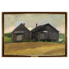 """""""The Old Blacksmith Shop, Kennebunkport"""" by Myron Lechay"""