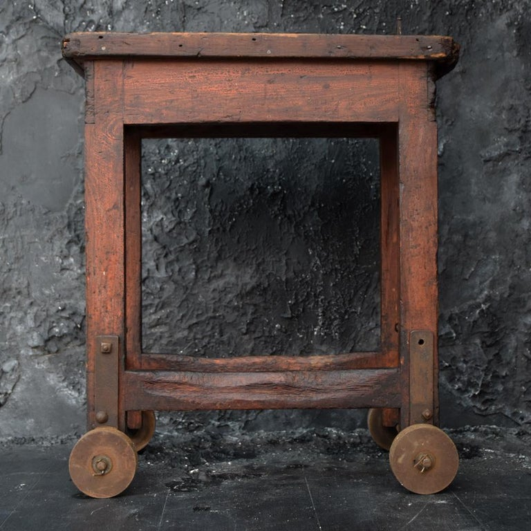 Early 20th Century Old English Mill Trolley, circa 1900 For Sale