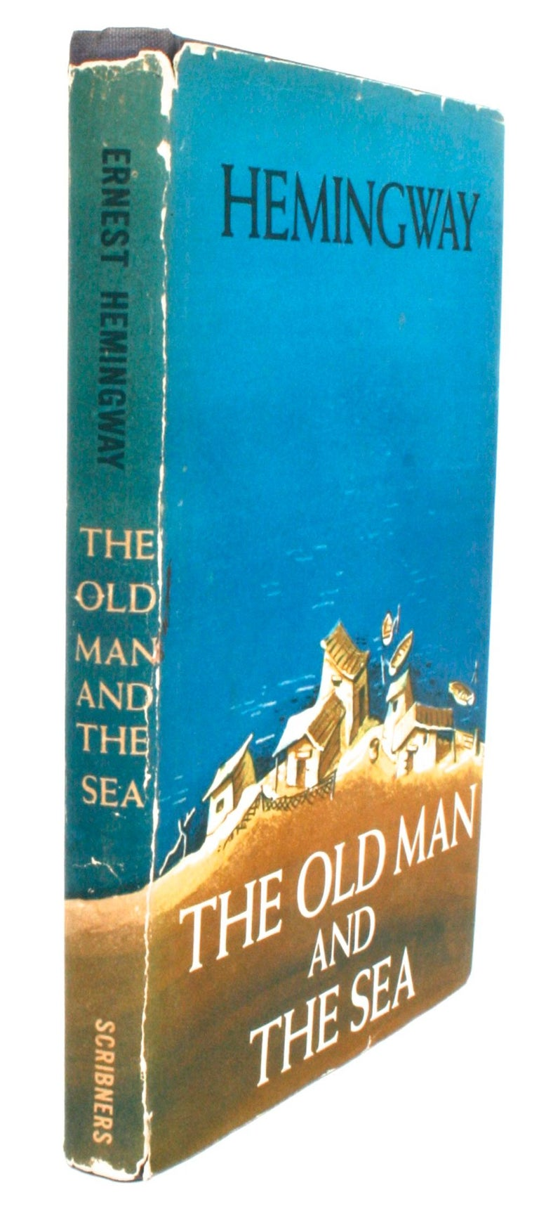 Paper The Old Man and the Sea by Ernest Hemingway For Sale