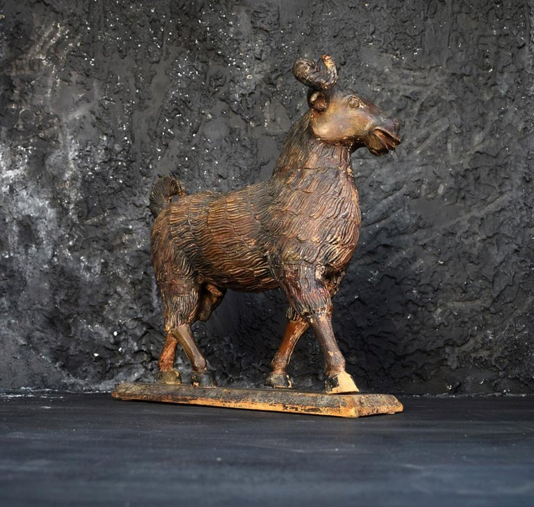 Folk Art The Old Ram c.1905 For Sale