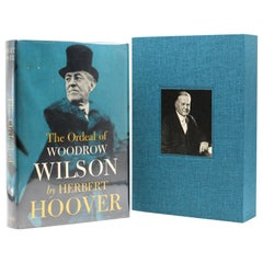 """Ordeal of Woodrow Wilson"" Signed by Herbert Hoover, Sixth Printing, 1958"