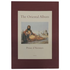 The Oriental Album Vintage Coffee Table Book by Emile Priss D'Averne