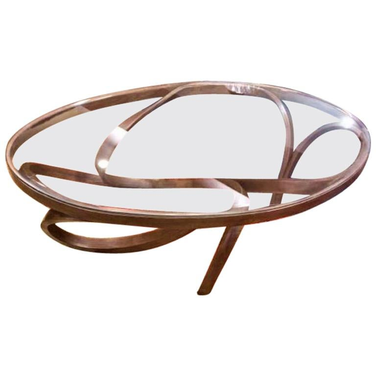 Oval Coffee Table, a Statement Centerpiece, Large Center Table