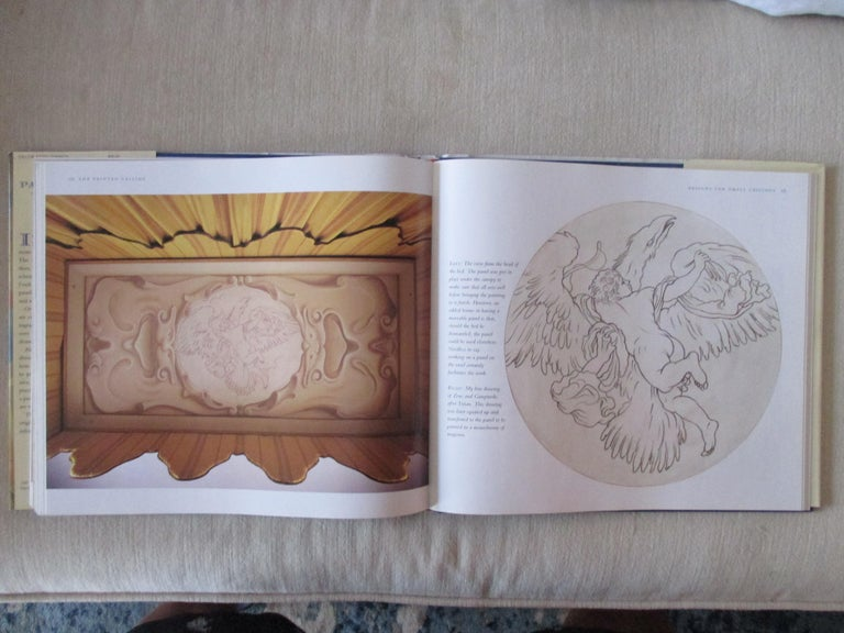 North American The Painted Ceiling Hardcover Book For Sale