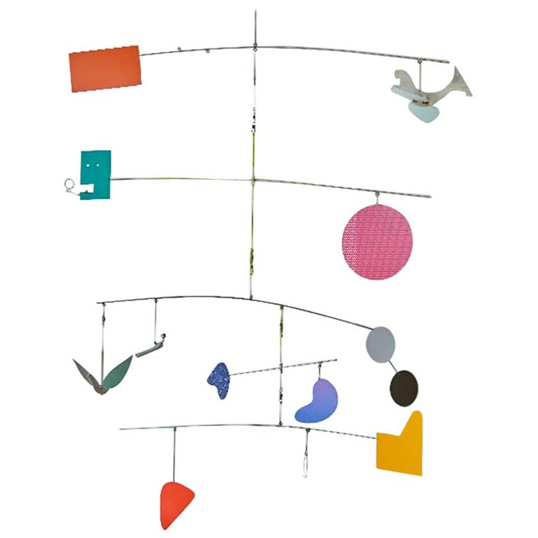 'The Patch' Hanging Sculpture by Peter Shire, 2015 For Sale