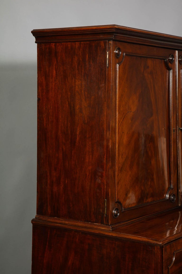 Paxton House Secretaire, by Thomas Chippendale For Sale 9