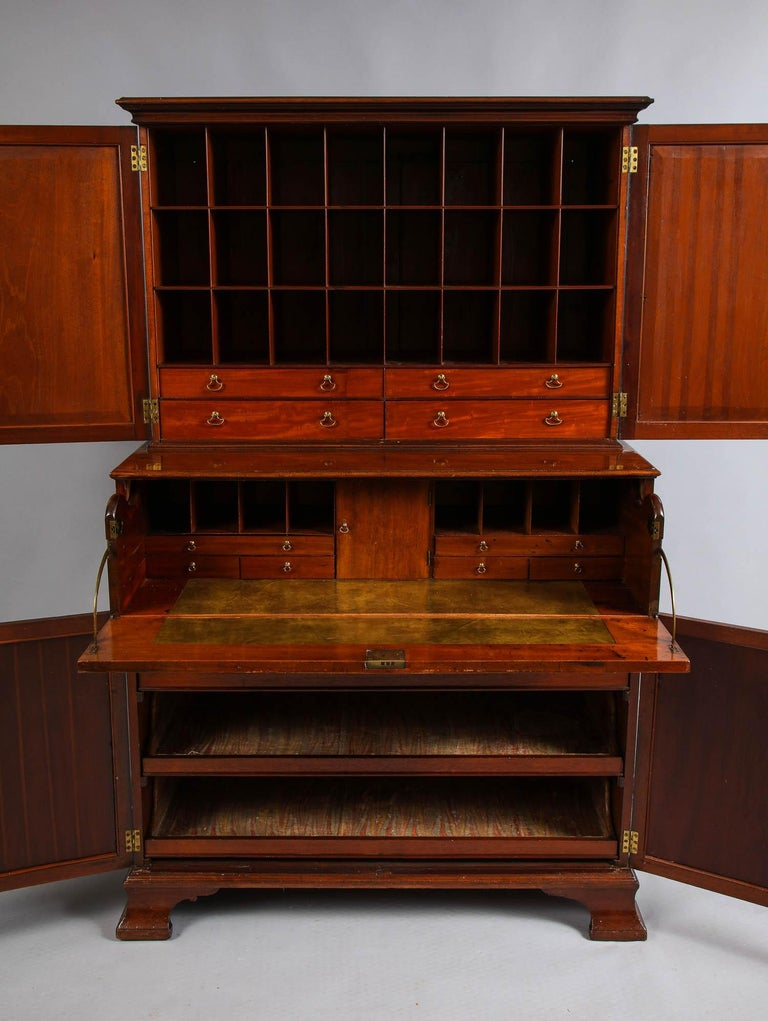 Paxton House Secretaire, by Thomas Chippendale In Good Condition For Sale In New York, NY