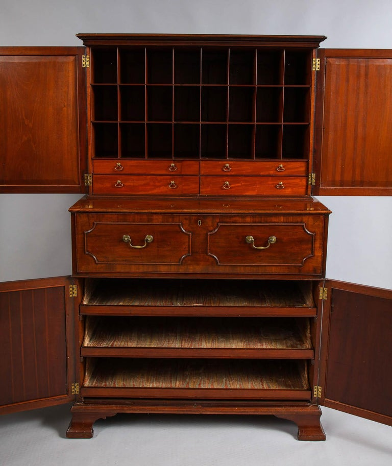 Late 18th Century Paxton House Secretaire, by Thomas Chippendale For Sale