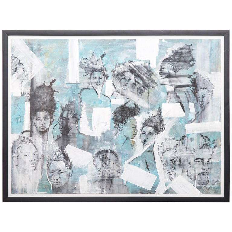 """""""The People People 2"""" by Tracy Crump For Sale"""