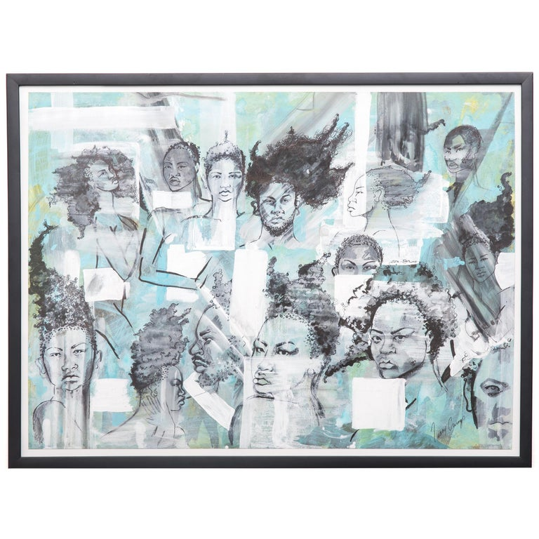 """""""The People People 4"""" by Tracy Crump For Sale"""