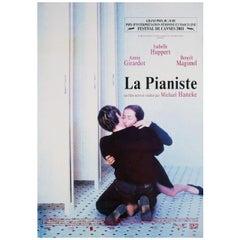 """The Piano Teacher"" 2001 Dutch A1 Film Poster"