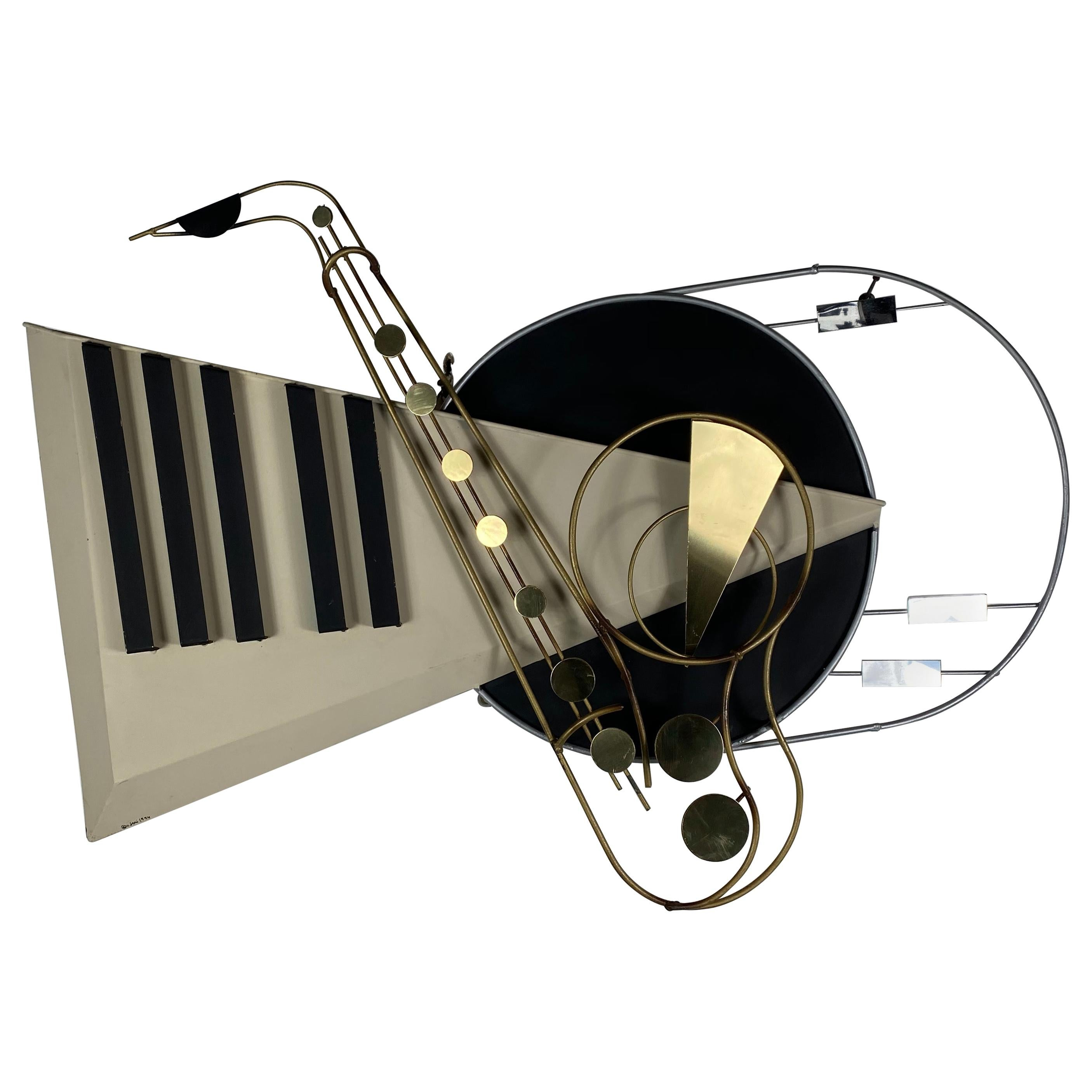 """""""the Piano"""" Wall-Mounted Piece by Curtis Jere"""