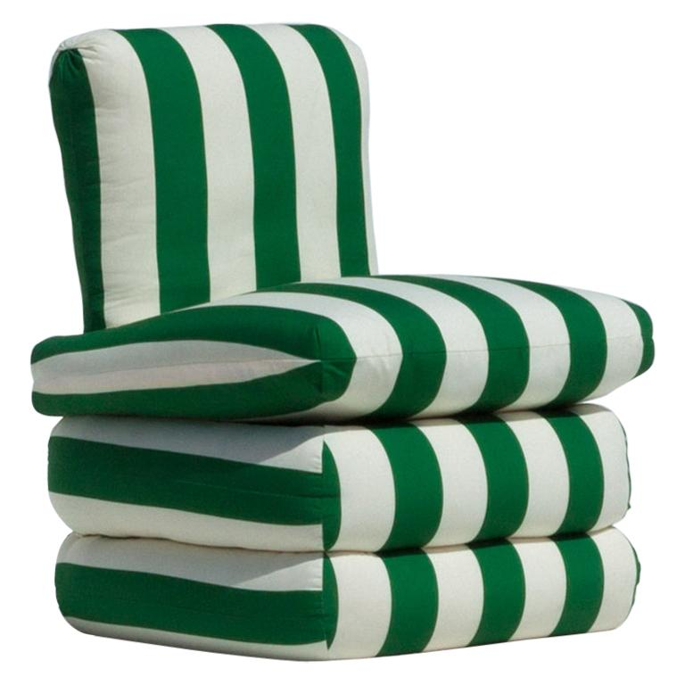 Pillow Chair, Green For Sale