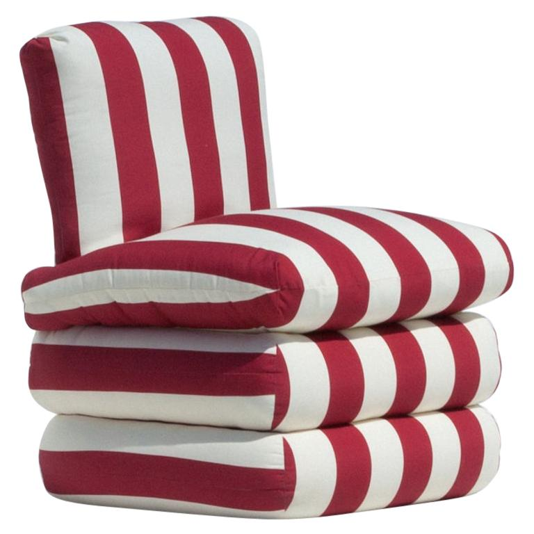 The Pillow Chair, Red For Sale
