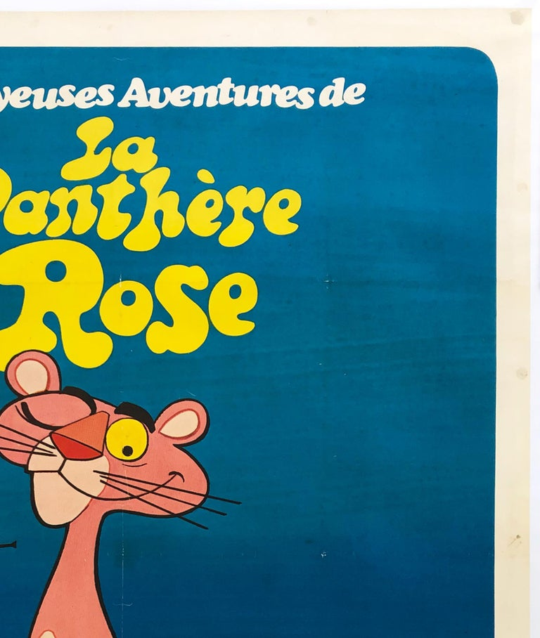 Linen The Pink Panther 1970 French Grande Film Movie Poster