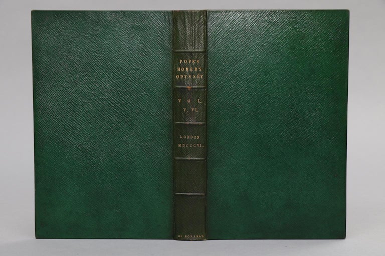 The Poetical Works of Alexander Pope, The Odyssey of Homer, The Illiad of Homer In Good Condition For Sale In New York, NY