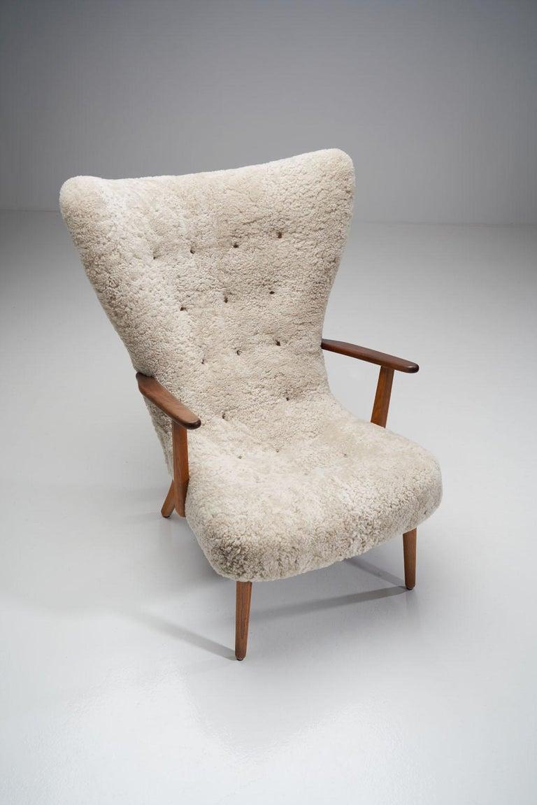 """The Prague Chair"" by Madsen & Schubell, Denmark, 1950s 3"