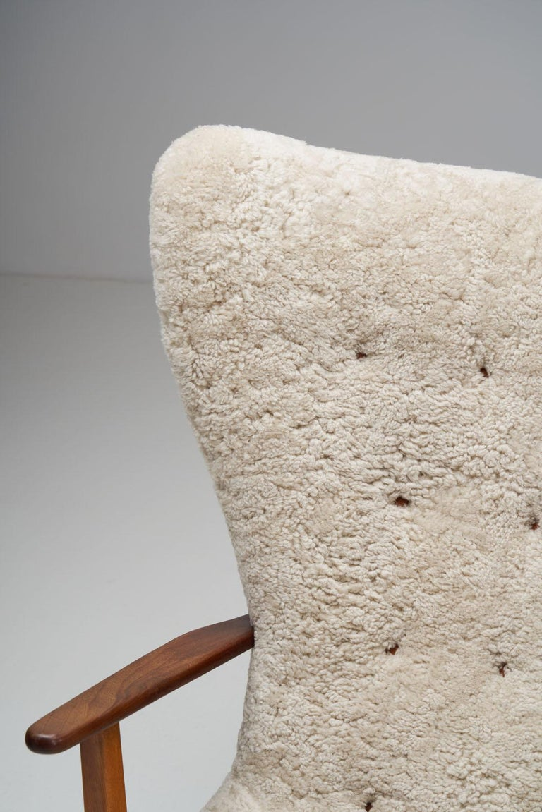 """The Prague Chair"" by Madsen & Schubell, Denmark, 1950s 5"
