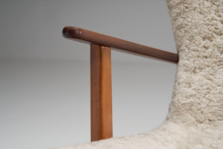 """The Prague Chair"" by Madsen & Schubell, Denmark, 1950s 6"