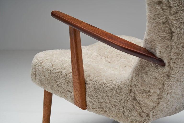 """The Prague Chair"" by Madsen & Schubell, Denmark, 1950s 7"