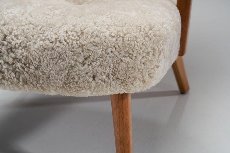 """The Prague Chair"" by Madsen & Schubell, Denmark, 1950s 8"