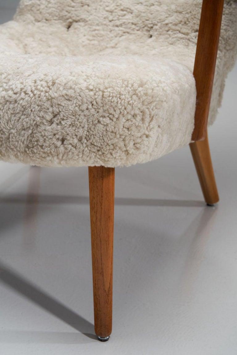 """The Prague Chair"" by Madsen & Schubell, Denmark, 1950s 9"