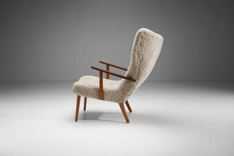 "Danish ""The Prague Chair"" by Madsen & Schubell, Denmark, 1950s"